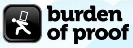 Burden of proof and standard of proof essay